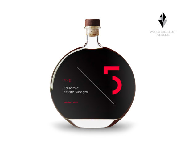FIVE ESTATE BALSAMIC VINEGAR - 200ML