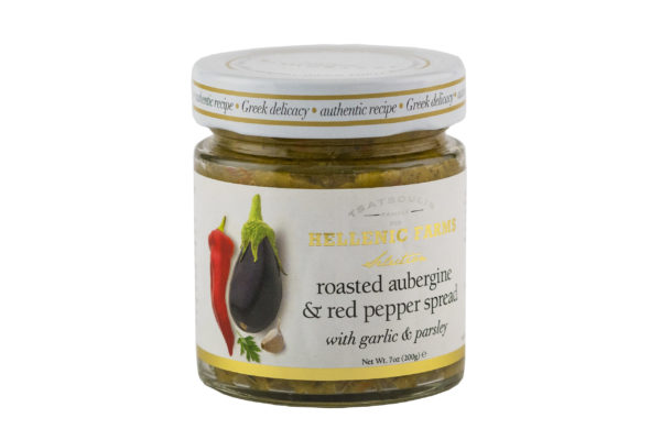 EGGPLANT & RED PEPPER SPREAD