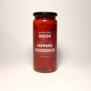 GREEK ROASTED RED PEPPERS