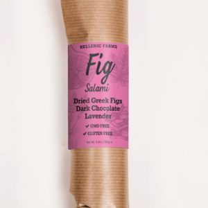 Fig Salami w/ Dark Chocolate & Lavender