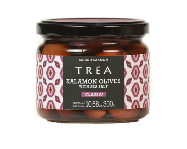 Trea Kalamon Olives w/ Sea Salt