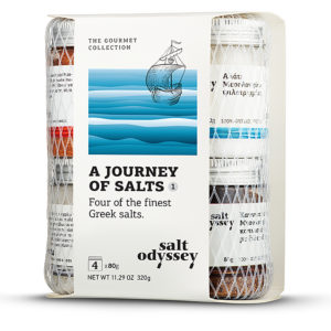 SALT ODYSSEY JOURNEY OF SALT 1 - SALTS OF GREECE