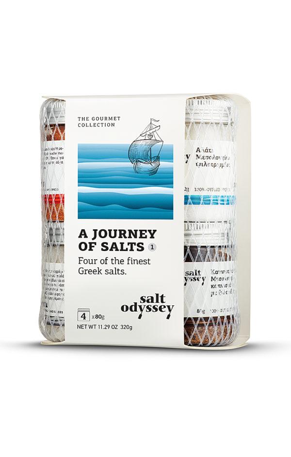 SALT ODYSSEY JOURNEY OF SALT 1 - SALTS OF GREECE