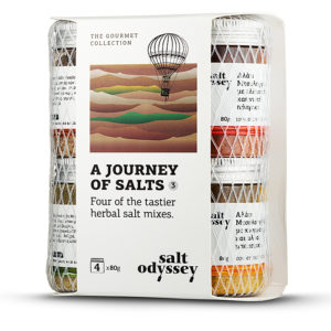 SALT ODYSSEY JOURNEY OF SALT 3 - HERBAL SALT MIXES