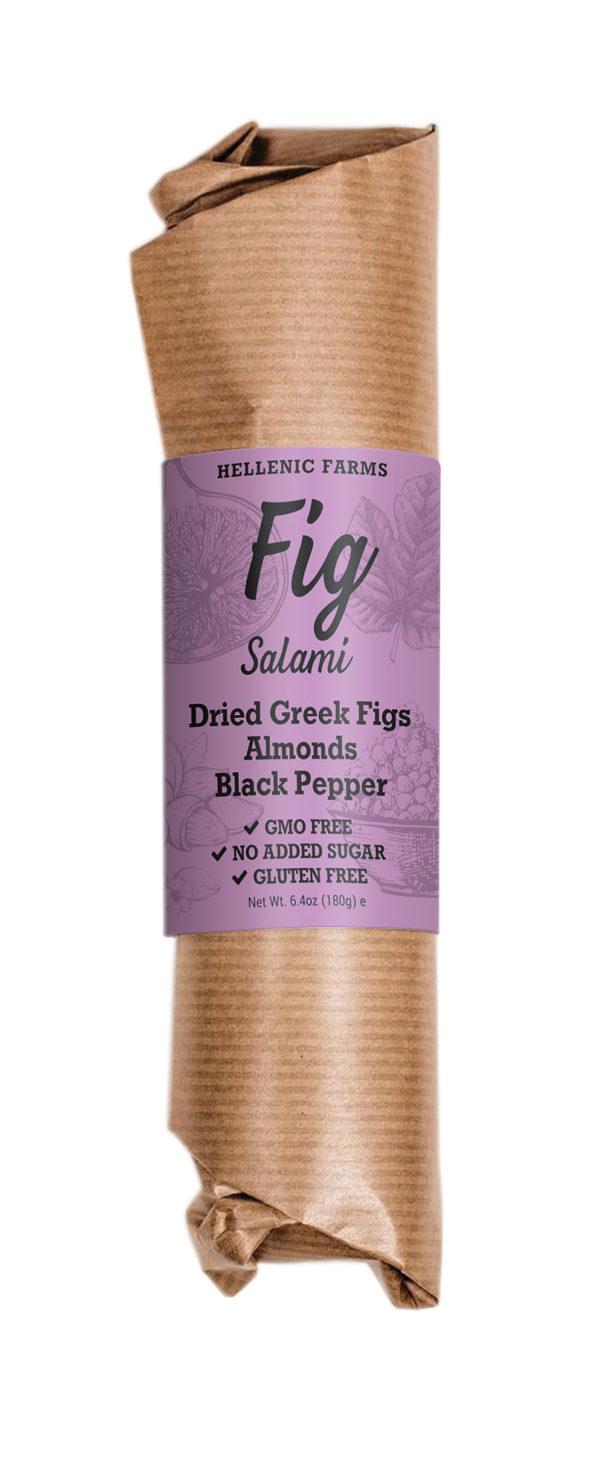 Dried Greek Figs + Almonds + Black Pepper