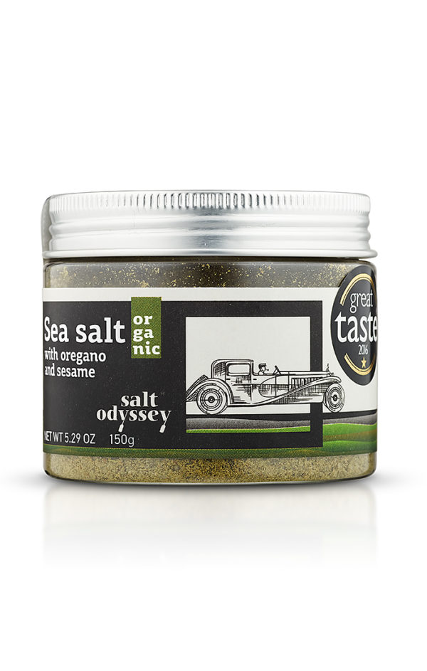 SEA SALT WITH OREGANO AND SESAME