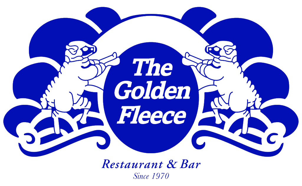 golden fleece logo blue transparent