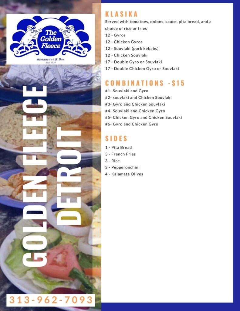 golden fleece menu detroit page 2